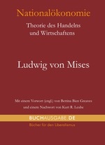 Ludwig von Mises, Nationalökonomie, Hardcover